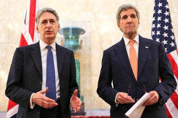 Foreign Minister Philip Hammond-US John Kerry UK Gov. Feb.04.2016