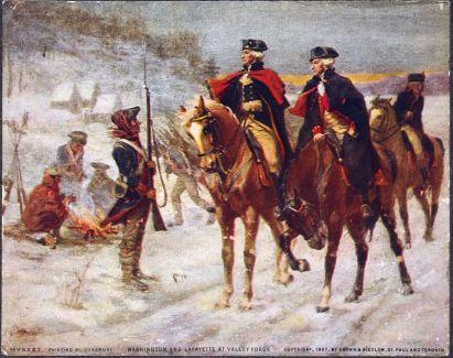 General Washington and General Lafayette