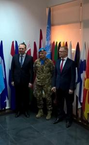 Minister of Defence Jussi Niinisto visited UNIFIL 2016 Finalnd MoD