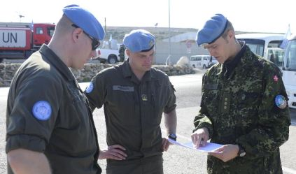 The Austrian Armed Forces in UN mission in Lebanon 2011