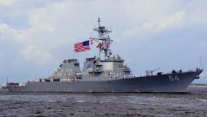 U.S Navy Multi-Mission USS Carney arrived in EU Sep.2015