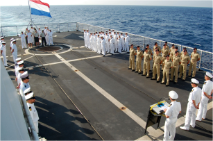 Dutch warship, HNLMS Groningen Nov.2015