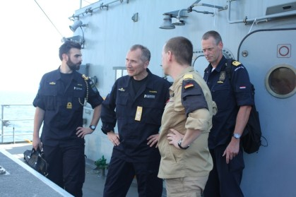 EU-Task-Force-Commander-Rear-Admiral-Jonas-Haggren-visited-German-Navy-frigate-FGS-Bayern 2015 EUNAVFOR