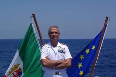 The Force Commander Rear Admiral Barbieri October 2015