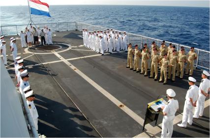 The Royal Netherlands Warship, HNLMS Groningen Friday 27 November 2015 EU NAVFOR