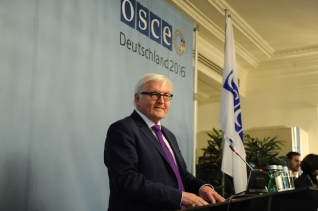 Federal Minister for Foreign Affairs Dr.Frank-Walter Steinmeier Chairperman of OSCE 2016