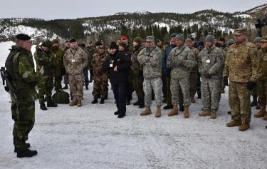 SNMG1 Cold Response 16,Norway 2016