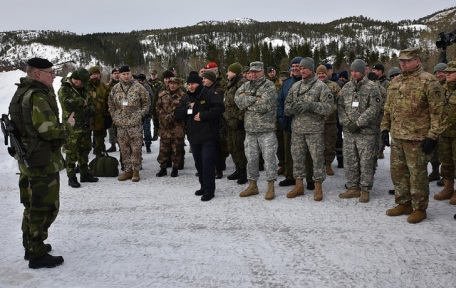 SNMG1 Cold Response 16,Norway 2016
