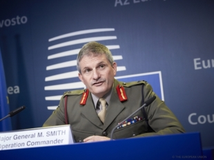 Major General SMITH, Operation Commander of the EU Naval Force 2016