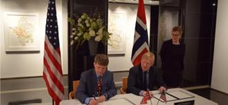 Norway and U.S. Sign MoU on Nonproliferation Assistance March 2016