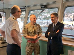 Foreign Secretary visits Gibraltar May 11 206