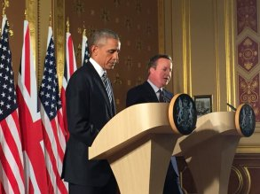 President Obama and Prime Minister Cameron April 22, 2016