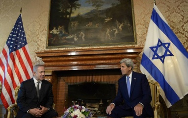 U.S Secretary of State Kerry and PM Netanyahu Rome June 27 2016