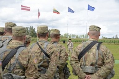 Military Police Battalion, 177th Military Police Brigade, Michigan National Guard EUCOM August 19, 2016