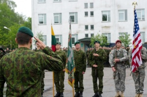 Paratroopers from the 173rd Airborne Brigade join NATO Allies. US Army Europe May 2014