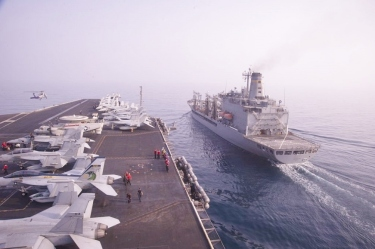 the-aircraft-carrier-uss-dwight-d-eisenhower-and-usns-john-ericsson-t-ao-194-us-navy